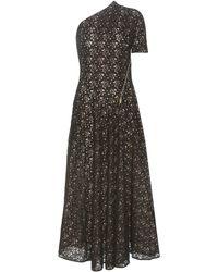 Stella McCartney - Asymmetrical Cotton-blend Lace Dress - Lyst
