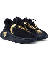 Balmain Sneakers B-Runner in mesh - Nero