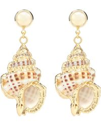 Jennifer Behr - Marina Shell Earrings - Lyst