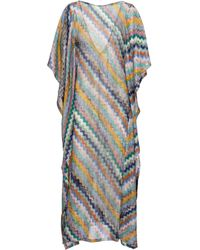 Missoni Zig-zag Knit Kaftan - Multicolour