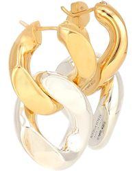 Bottega Veneta Chain Sterling-silver Earrings - Metallic