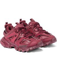 Balenciaga Zapatillas Track - Rojo