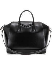 Givenchy Tote Antigona Medium de piel - Negro