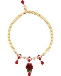 Dolce & Gabbana - Halskette mit Kristallen - Lyst