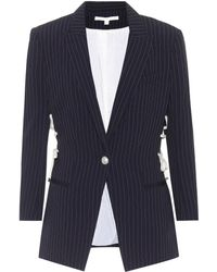 Veronica Beard - Taylor Lace Up Dickey Jacket - Lyst