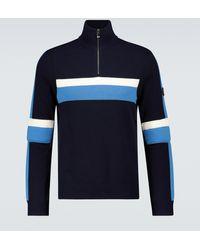 Bogner Pullover Sito aus Wolle - Blau