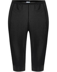 Ganni Biker Shorts - Black