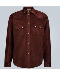 Phipps Rockhound Corduroy Shirt - Brown