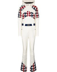 Perfect Moment Tignes Houndstooth Ski Suit - Multicolor