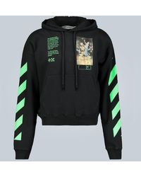 Off-White c/o Virgil Abloh Pascal Painting Hooded Sweatshirt - Black
