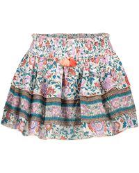 Poupette Exclusivité Mytheresa – Mini-jupe Ariel en coton à fleurs - Multicolore