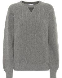 Brunello Cucinelli Pullover in cashmere - Grigio