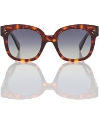 Celine Oversize-Sonnenbrille - Braun