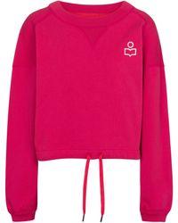 Isabel Marant Sweat-shirt Margo en coton - Multicolore