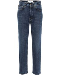 Golden Goose Deluxe Brand Judy High-rise Straight Jeans - Blue