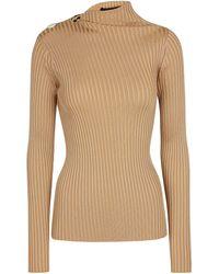 Proenza Schouler Ribbed-knit Top - Natural