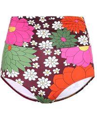 Dodo Bar Or Slip bikini a stampa floreale - Multicolore