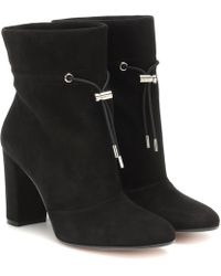 Gianvito Rossi Ankle Boots Maeve 85 - Schwarz
