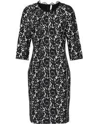 Dorothee Schumacher Lace Embrace Dress - Black