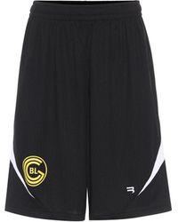 Balenciaga Technical Jersey Shorts - Black