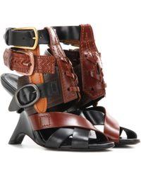 Tom Ford - Embellished Leather Sandals - Lyst