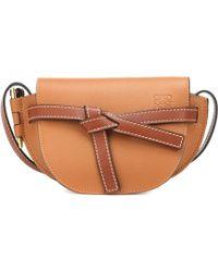 Loewe Gate Small Leather Crossbody Bag - Multicolour
