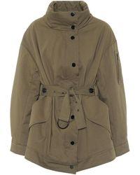 Dorothee Schumacher Adventurous Movement Cotton-gabardine Jacket - Natural