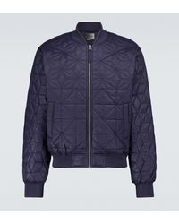 Isabel Marant Kelios Puffer Jacket - Blue