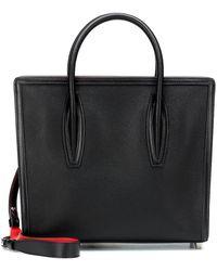 Christian Louboutin Paloma Medium Leather Tote - Black