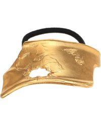 Alighieri The Overthinker 24kt Gold-plated Bronze Hair Tie - Metallic