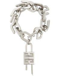 Givenchy Armband G Link Lock - Mettallic