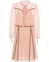 COACH Printed Dress - Pink