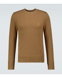 Burberry Lapworth Cashmere Sweater - Natural
