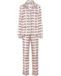 Prada - Completo pigiama in seta - Lyst