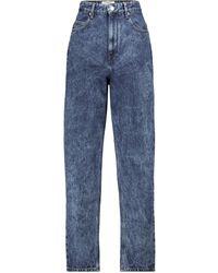 Étoile Isabel Marant High-Rise Tapered Jeans Corsy - Blau