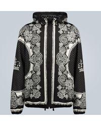 Dolce & Gabbana Giacca con cappuccio - Nero