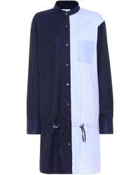 Public School - Colorblock Cotton Shirt Dress - Lyst