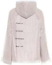 Proenza Schouler Pvc And Cotton Jacket - White