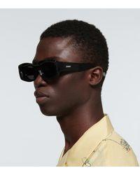 Loewe Paula's Ibiza Sonnenbrille aus Acetat - Schwarz