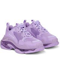 Balenciaga Sneakers Triple S - Lila
