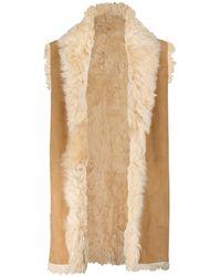 Polo Ralph Lauren Veste réversible en shearling et daim - Multicolore