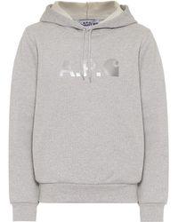 A.P.C. Carhartt Stash Hoodie - Grey