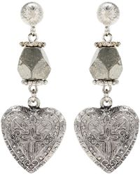 Givenchy - Heart Earrings - Lyst