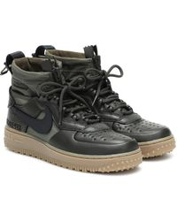 Nike Air Force 1 Winter Gore-tex Ankle Boots - Black