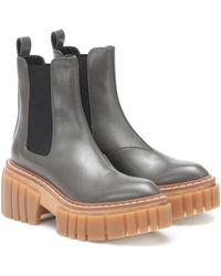 Stella McCartney Chelsea Boots Emilie - Grau