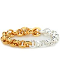 Timeless Pearly Bracciale in argento bagnato in oro giallo 24kt - Metallizzato