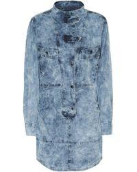 Étoile Isabel Marant Inaroa Denim Minidress - Blue