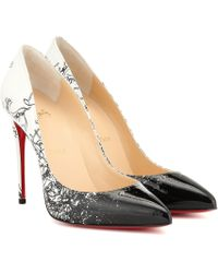 Christian Louboutin Exclusive To Mytheresa – Pigalle Follies 100 Patent Leather Pumps - White
