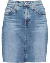 AG Jeans Jeansrock The Erin - Blau