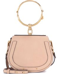 Chloé - Nile Bracelet Leather Cross-body Bag - Lyst